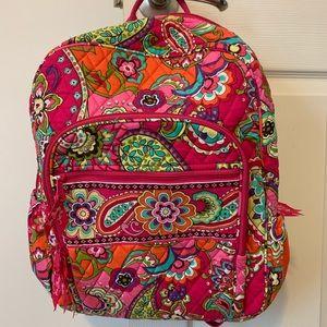 Vera Bradley Pink Swirls Backpack